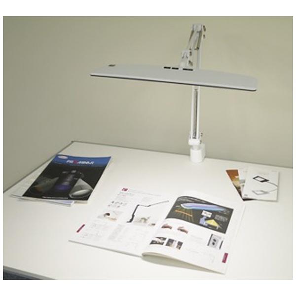 【送料無料】 KOWA 興和 クランプ式LEDスタンドライト 白 EK263-WH2 調光(昼白色)[EK263WH2]