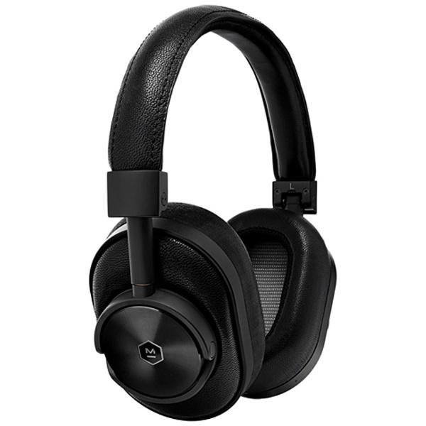 【送料無料】 MASTER&DYNAMIC ブルートゥースヘッドホン Master&Dynamic MW60 MW60B1-BLK BLACK/BLACK [Bluetooth][o-ksale]