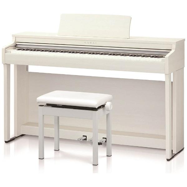 【標準設置費込み】 河合楽器 CN27A 電子ピアノ CNシリーズ プレミアムホワイトメープル調仕上げ [88鍵盤]