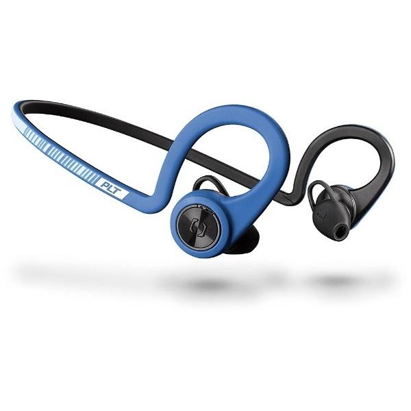 【送料無料】 プラントロニクス iPad / iPhone / iPod対応[マイク付]ブルートゥースイヤホン 耳かけ型 BackBeat Fit(NEW)(ブルー) BACKBEATFIT-BLU