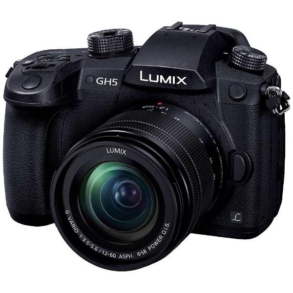 【送料無料】 パナソニック Panasonic LUMIX GH5【標準ズームレンズキット/ミラーレス一眼カメラ】 DC-GH5M-K[DCGH5M]