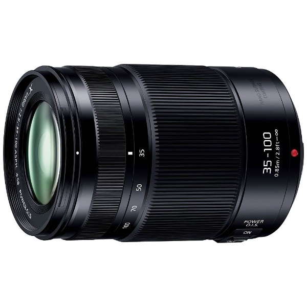 【送料無料】 パナソニック Panasonic カメラレンズ LUMIX G X VARIO 35-100mm / F2.8 II / POWER O.I.S.【マイクロフォーサーズマウント】[HHSA35100]