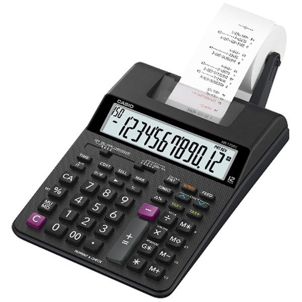 【送料無料】 カシオ プリンター電卓 HR-170RCBK