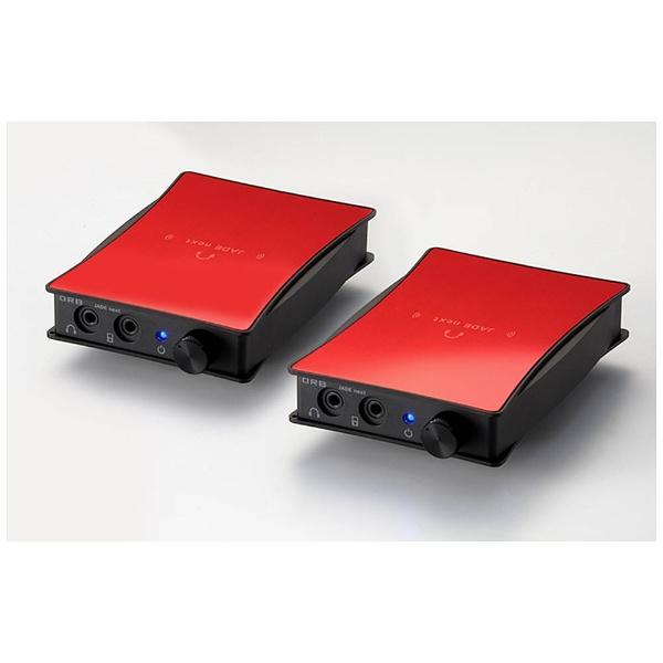 【送料無料】 ORB 【数量限定】ポータブルヘッドホンアンプ JADE next Ultimate bi power FitEar-Unbalanced with VanNuys bag (Red) JNU-BIP-FITEAR-UB-WV RED 【受発注・受注生産商品】