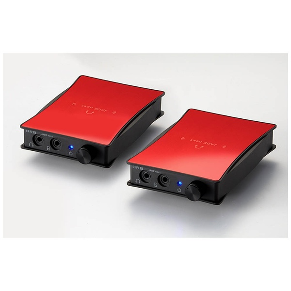 【送料無料】 ORB 【数量限定】ポータブルヘッドホンアンプ JADE next Ultimate bi power MMCX-Unbalanced with VanNuys bag (Red) JNU-BIP-MMCX-UB-WV RED 【受発注・受注生産商品】