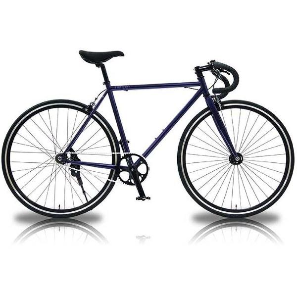 【送料無料】 TRAILER 700×23C型 ロードバイク 700C Chromoly Single Speed(ネイビー/520サイズ) TR-PS701-NV【2017年モデル】【組立商品につき返品不可】 【代金引換配送不可】