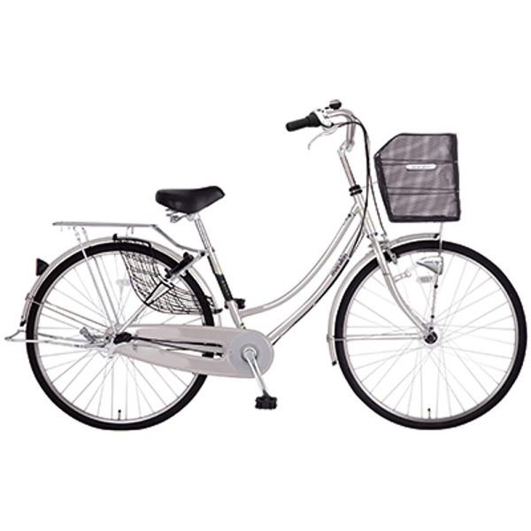 【送料無料】 MARUKIN 26型 自転車 レイニープレミアH263-J(シルバー/内装3段変速) MK-17-016【2017年モデル】【組立商品につき返品不可】 【代金引換配送不可】【メーカー直送・代金引換不可・時間指定・返品不可】