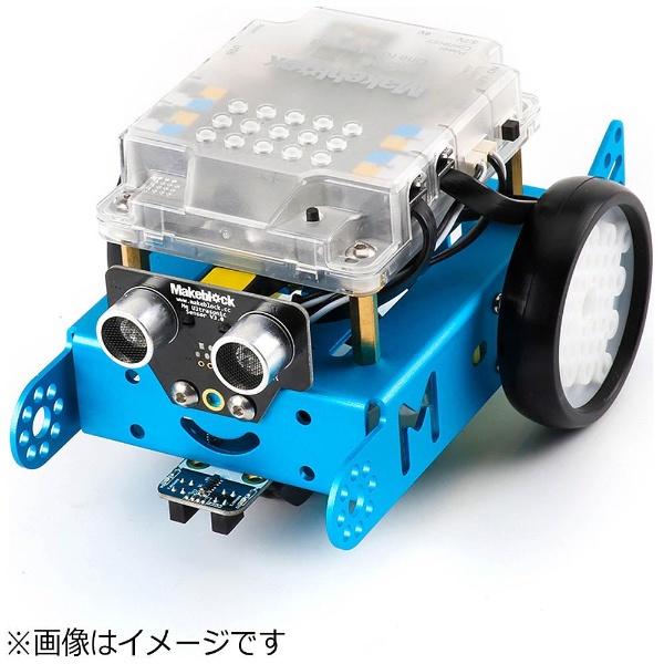 【送料無料】 MAKEBLOCKJAPAN mBot V1.1-Blue(Bluetooth Version) [99095]〔ロボットキット: iOS/Android対応〕【STEM教育】