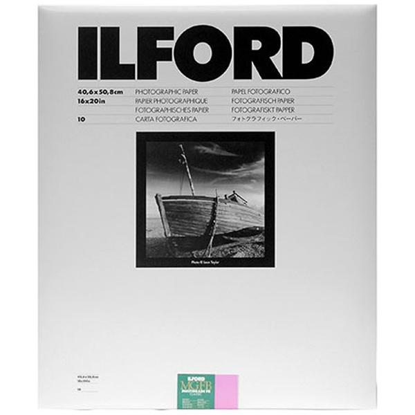 【送料無料】 イルフォード マルチグレードFBクラシック 1K Glossy(光沢) 小全紙(16×20インチ) 10枚入 MGFB 1K 16X20 10
