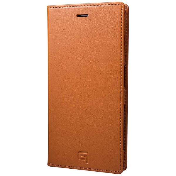 【送料無料】 坂本ラヂヲ Xperia XZ用 手帳型ケース GRAMAS Full Leather Case タン GLC6116TA
