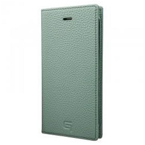 【送料無料】 坂本ラヂヲ iPhone 7 Plus用 手帳型レザーケース GRAMAS Shrunken-calf Full Leather Case ブルー GLC656PBL