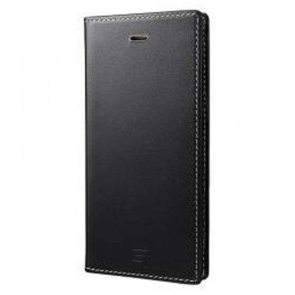 【送料無料】 坂本ラヂヲ iPhone 7 Plus用 手帳型レザーケース GRAMAS Full Leather Case Limited ブラック×ベージュ GLC636PLBKBE