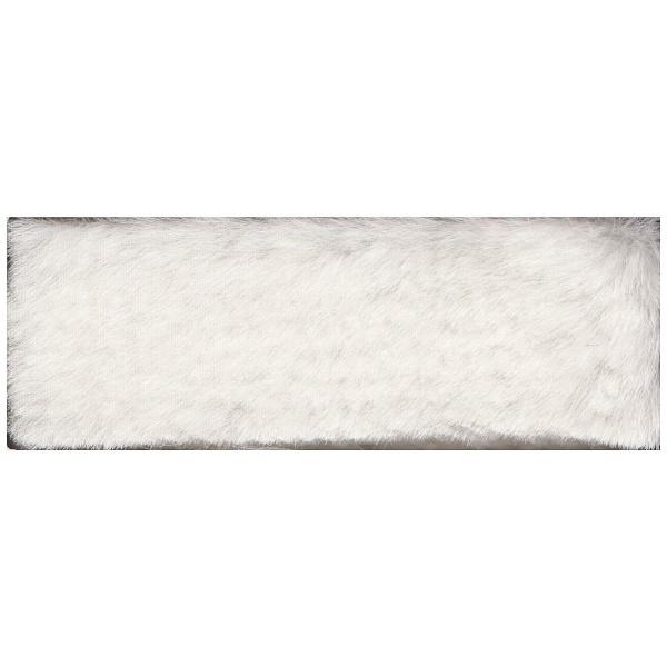 【送料無料】 スミノエ カーペット スチームファー(6畳/261×352cm/ホワイト)【日本製】
