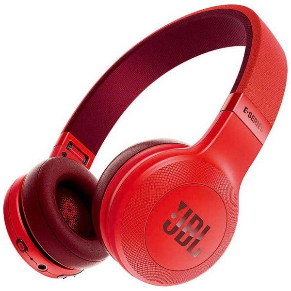 【送料無料】 JBL ブルートゥースヘッドホン JBLE45BTRED レッド [Bluetooth]