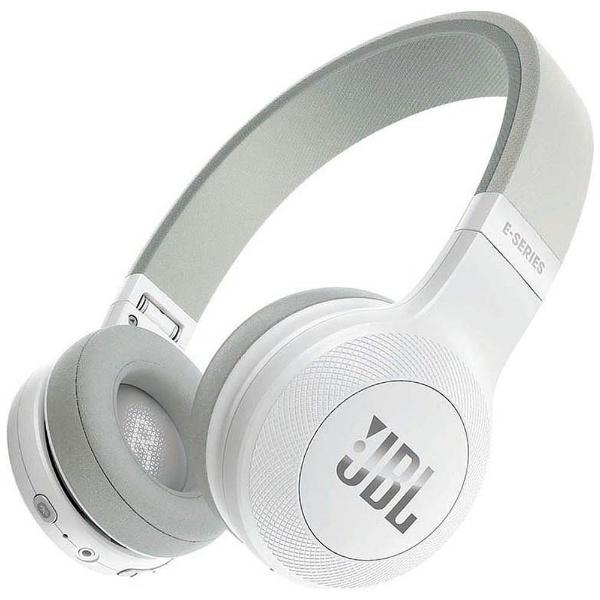 【送料無料】 JBL ブルートゥースヘッドホン JBLE45BTWHT ホワイト [Bluetooth]