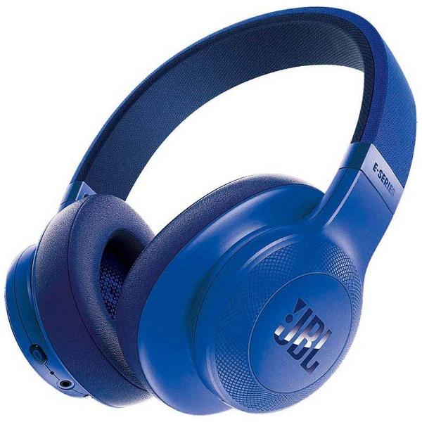 【送料無料】 JBL ブルートゥースヘッドホン JBLE55BTBLU ブルー [Bluetooth]