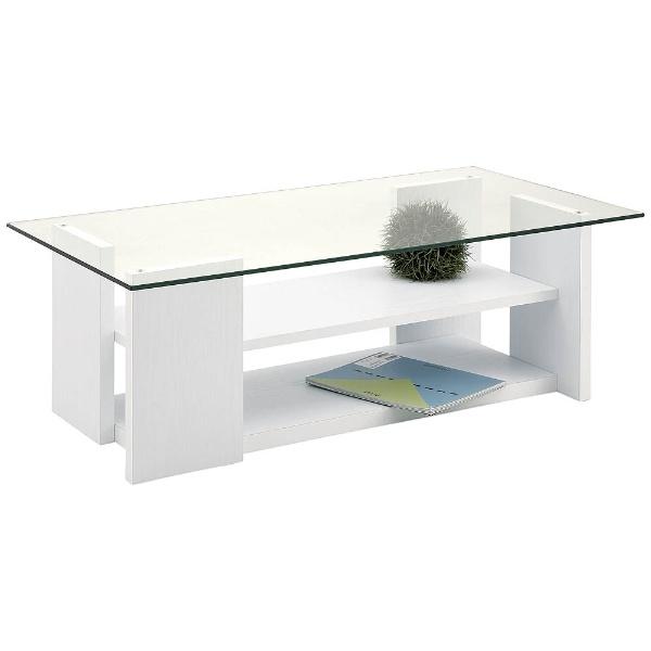 【送料無料】 東谷 テーブル SO-100WH(W100×D50×H34cm)