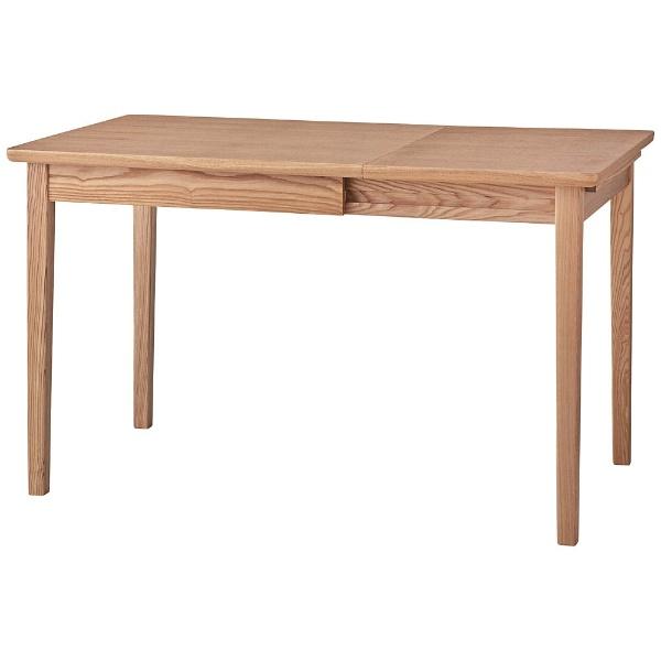 【送料無料】 東谷 エクステンションダイニングテーブル NYT-764NA(W75/120×D75×H72cm)