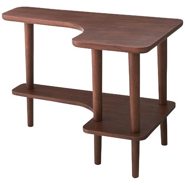 【送料無料】 東谷 サイドテーブル NYT-781WAL(W80×D50×H52cm)