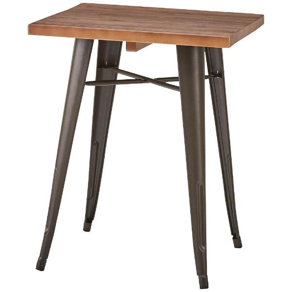 【送料無料】 東谷 ダイニングテーブル WPS-347(W60×D60×H75cm)