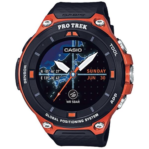 【送料無料】 カシオ スマートウォッチ 「Smart Outdoor Watch PRO TREK Smart」 (オレンジ) WSD-F20-RG[b-ksale]