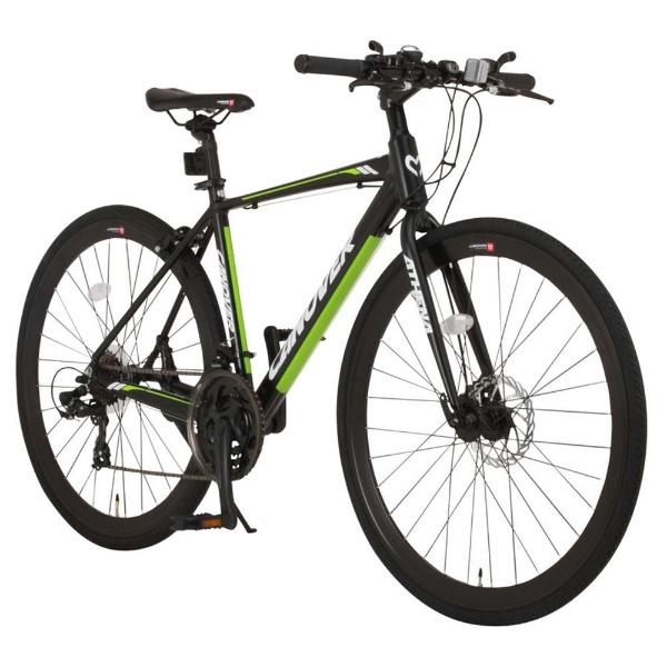 【送料無料】 オオトモ 700×28C型 クロスバイク ATHENA(マットブラック/470サイズ《適応身長:160cm以上》) CAC-027-DC【2017年モデル】【組立商品につき返品不可】 【代金引換配送不可】