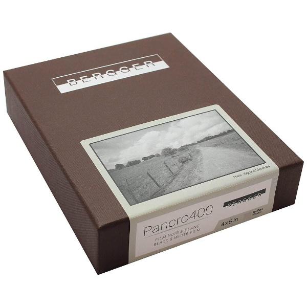 【送料無料】 サンアイ 白黒フィルムBERGGER PANCRO 400 - 4x5 inch / 50 sheets BPA04550[BPA04550]