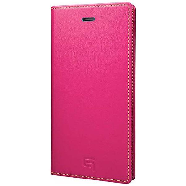 【送料無料】 坂本ラヂヲ iPhone 6s/6用 手帳型レザーケース GRAMAS Full Leather Case SAPEUR Limited ピンクxターコイズxイエロー GRLC634L5PNK[s-ksale]