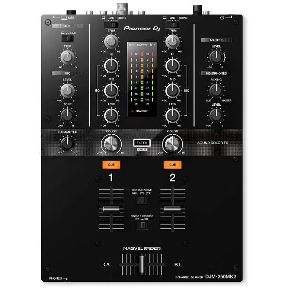 【送料無料】 パイオニア 2ch DJミキサー DJM-250MK2