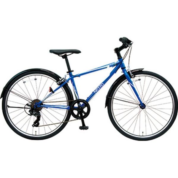 【送料無料】 NESTO 24型 子供用自転車 ファラドJCR24-J(ブルー/7段変速) NE-17-008【2017年モデル】【組立商品につき返品不可】 【代金引換配送不可】【メーカー直送・代金引換不可・時間指定・返品不可】