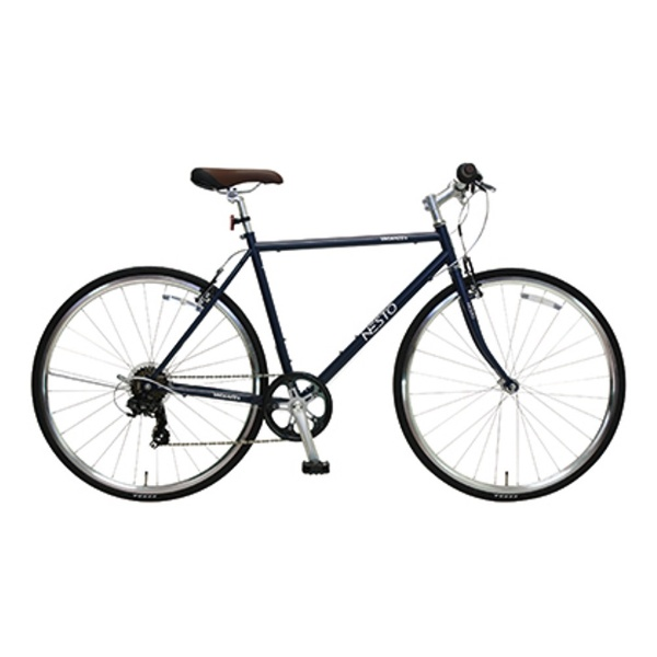 【送料無料】 NESTO 700×28C型 クロスバイク VACANZE S(マットブルー/520サイズ《適応身長:165cm以上》) NE-17-006【組立商品につき返品不可】 【代金引換配送不可】【メーカー直送・代金引換不可・時間指定・返品不可】