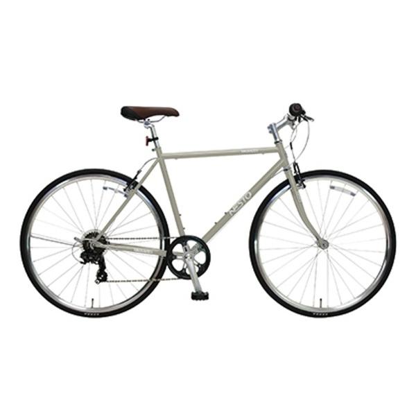【送料無料】 NESTO 700×28C型 クロスバイク VACANZE S(マットグレー/520サイズ《適応身長:165cm以上》) NE-17-006【組立商品につき返品不可】 【代金引換配送不可】【メーカー直送・代金引換不可・時間指定・返品不可】