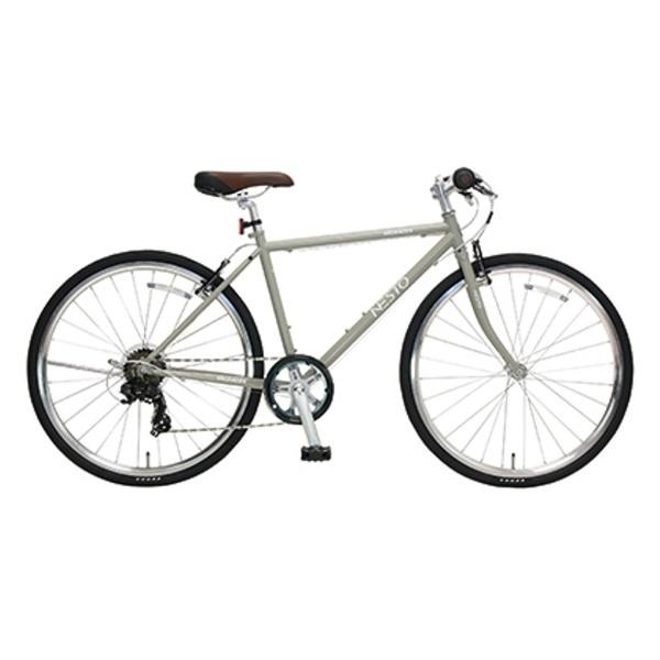 【送料無料】 NESTO 26型 クロスバイク VACANZE S(マットグレー/430サイズ《適応身長:150cm以上》) NE-17-006【組立商品につき返品不可】 【代金引換配送不可】【メーカー直送・代金引換不可・時間指定・返品不可】