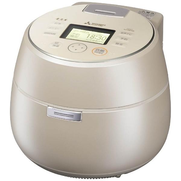 【送料無料】 三菱 Mitsubishi Electric IH炊飯ジャー 「本炭釜 KAMADO」(5.5合) NJ-AW108-W 白和三盆[NJAW108]