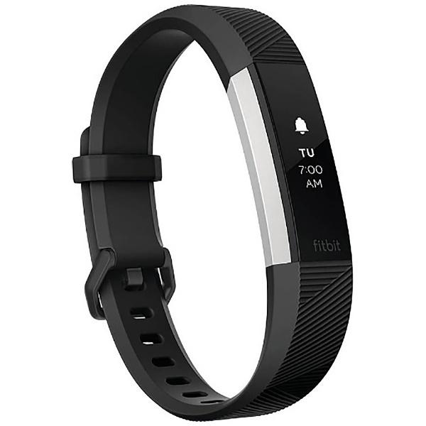 【送料無料】 FITBIT ウェアラブル端末 心拍計+フィットネス リストバンド 「Fitbit Alta HR」 Lサイズ FB408SBKL-CJK Black[FB408SBKLCJK]