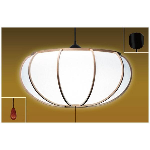 【送料無料】 瀧住 LED和風ペンダントライト(~12畳) TEV12521 昼光色[TEV12521]