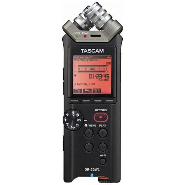 【送料無料】 TASCAM 【ハイレゾ音源対応】リニアPCMレコーダー DR-22WL VER2-J