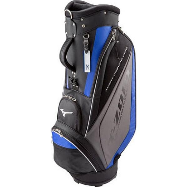 【送料無料】 ミズノ キャディバッグ T-ZOID(9.5型/ブラック×ブルー) 5LJC1793000922