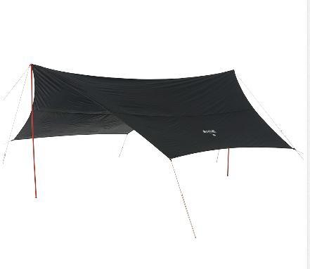 【送料無料】 ロゴス タープ Black UV ヘキサ5750-AG 71808022