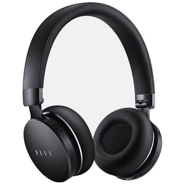 【送料無料】 FIIL ブルートゥースヘッドホン DIVA BK ブラック [Bluetooth /ノイズキャンセル対応]