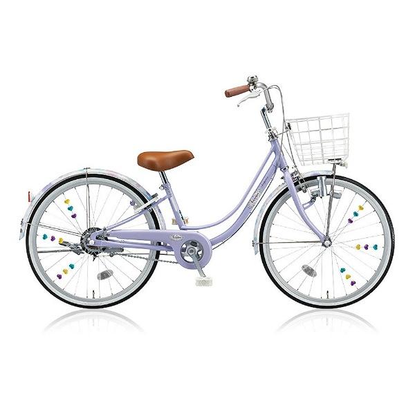 【送料無料】 ブリヂストン 24型 子供用自転車 リコリーナ(E.Xティーンラベンダー/シングルシフト) RC40【2017年モデル】【組立商品につき返品不可】 【代金引換配送不可】