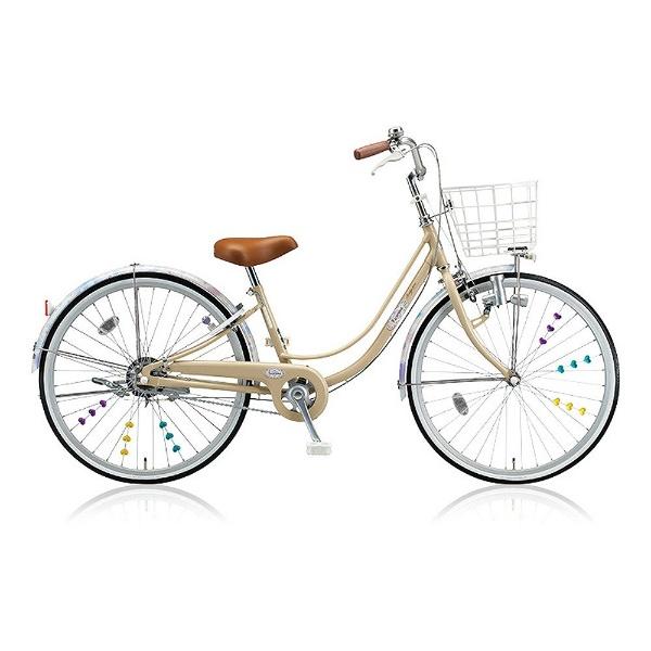 【送料無料】 ブリヂストン 24型 子供用自転車 リコリーナ(E.Xカフェベージュ/シングルシフト) RC40【2017年モデル】【組立商品につき返品不可】 【代金引換配送不可】