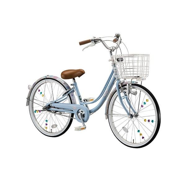 【送料無料】 ブリヂストン 22型 子供用自転車 リコリーナ(E.Xカームブルー/内装3段変速) RC23【2017年モデル】【組立商品につき返品不可】 【代金引換配送不可】