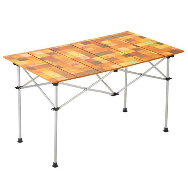 【送料無料】 コールマン 収束式テーブル ナチュラルモザイクロールテーブル 120 2000031293【4~6人用】