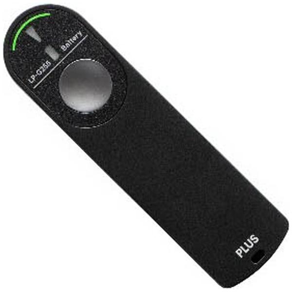 【送料無料】 プラス レーザーポインター電池残量表示付緑 LP-G255