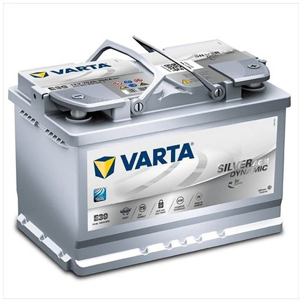 【送料無料】 VARTA 欧州車用AGMバッテリー 570 901 076 silver dynamic AGM 【メーカー直送・代金引換不可・時間指定・返品不可】