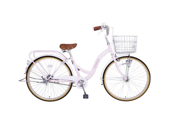 【送料無料】 タマコシ 26型 自転車 マハロ26HD(ピンク/シングルシフト)【組立商品につき返品不可】 【代金引換配送不可】