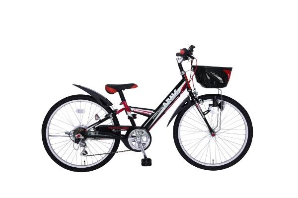 【送料無料】 タマコシ 24型 子供用自転車 アームス246(レッド/外装6段変速)【組立商品につき返品不可】 【代金引換配送不可】