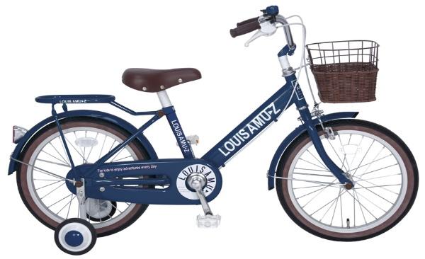 【送料無料】 タマコシ 18型 幼児用自転車 ルイスアミューズキッズ18(ネイビーブルー/シングル)【組立商品につき返品不可】 【代金引換配送不可】