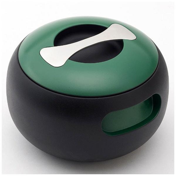 【送料無料】 穴織カーボン ≪IH対応≫ カーボン製両手鍋 「POT OVAL」(2.7L) OV001BG ブリティッシュグリーン